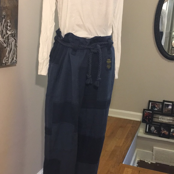 9892c7dd4 Polo Nautical Patchwork Trousers W Rope Belt. NWT. Polo by Ralph Lauren